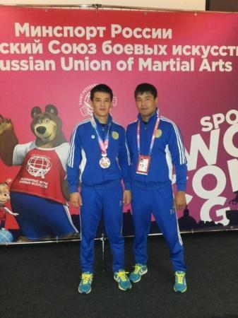 Актауский спортсмен стал бронзовым призером Всемирных игр боевых искусств в Санкт-Петербурге