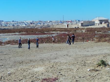 Орынбасар Токжанов: «Мертвое озеро» в Актау опасности не представляет