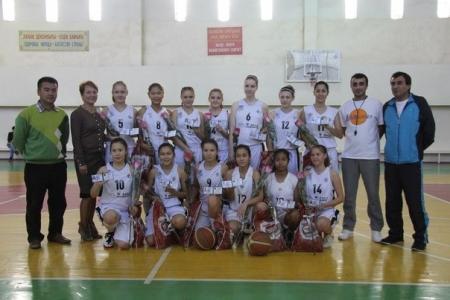 Актауским баскетболисткам присвоено почетное звание «кандидат в мастера спорта РК»