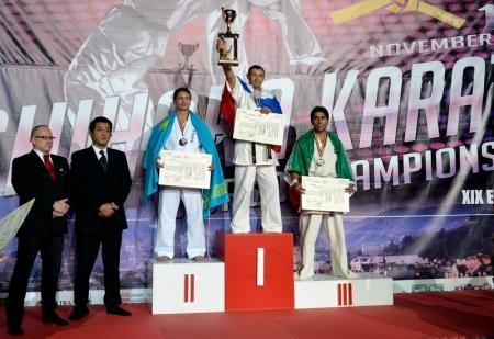 Актауская команда впервые представила Казахстан на чемпионате мира по ашихара-каратэ