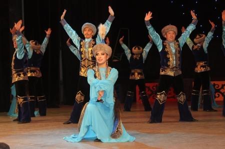 В Актау прошел концерт астанинского ансамбля танца «Наз»