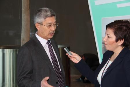 В Астане прошла пресс-конференция акима Мангистауской области
