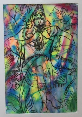 В галерее «Ковчег» открылась выставка работ актюбинской художницы Ильсии Казаковой