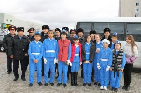 В Актау водители почтили память жертв дорожных аварий
