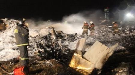 При крушении самолета в Казани погиб уроженец Темиртау