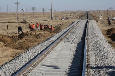 На месте крушения поезда в Мангистауской области продолжаются восстановительные работы