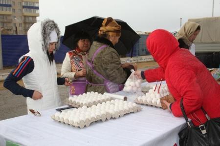 Сельскохозяйственная ярмарка в городе Актау