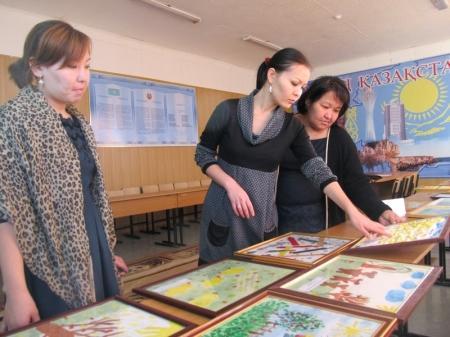 Работы юных художников Мангистау примут участие в белорусском конкурсе детских рисунков