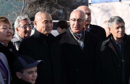 В Актау отметили 97 годовщину со дня рождения Рубена Григоряна