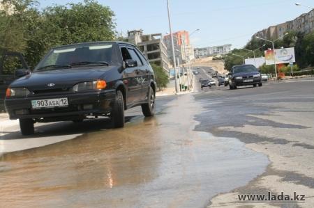 «Каспий жылу су арнасы» (ТВС и В) получил четырехзначный номер аварийной службы в Актау
