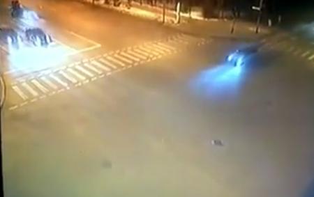 В Астане полицейский стал виновником жуткой аварии