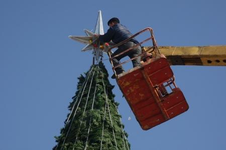 На украшение Актау к Новому году из местного бюджета будет выделено около 15 миллионов тенге