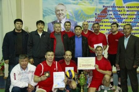 Волейболисты команды «Адилет» выиграли Кубок акима Каракиянского района