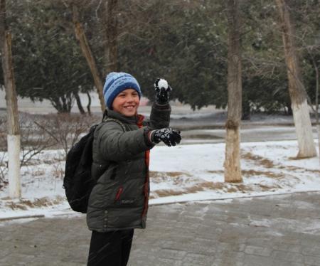 С первым снегом! Фотопост