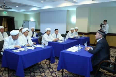 В Мангистау прошла аттестация имамов
