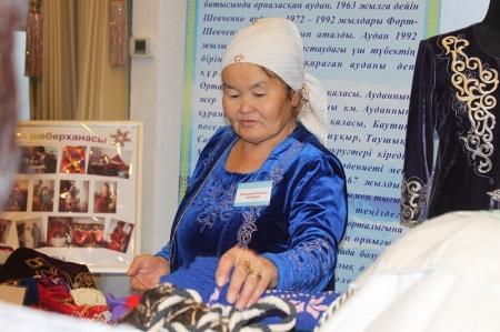 Министр труда и социальной защиты населения РК встретилась с товаропроизводителями Мангистауской области