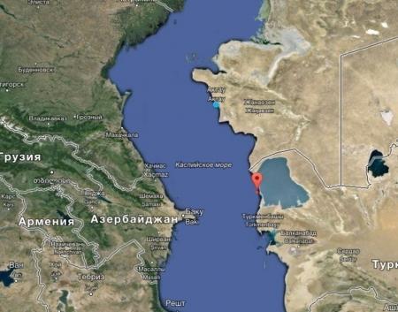 В Каспийском море произошло землетрясение