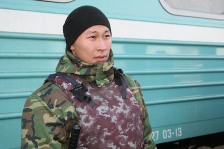 В новую воинскую часть Жанаозена прибыли первые призывники