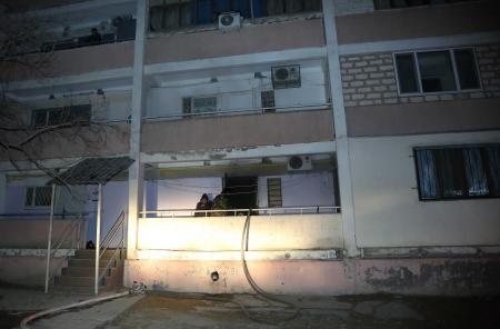 В Актау практически одновременно произошло сразу три пожара в жилом секторе