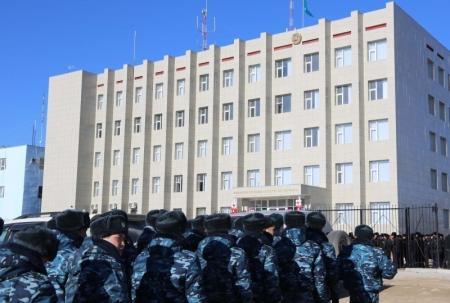 В Жанаозене открылся центр оперативного управления УВД