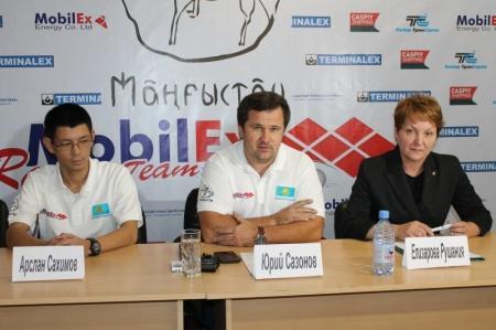 """Мангистауская команда """"Mobilex Racing Team"""" примет участие в ралли-рейде """"Africa eco Race"""""""