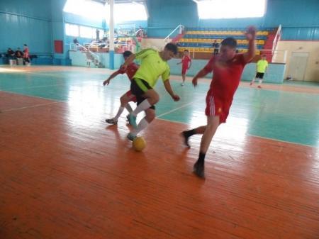 В Актау финансовые полицейские провели турнир по мини-футболу