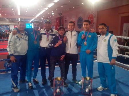 Актауский кикбоксер стал чемпионом мира в Турции
