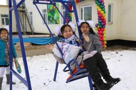В поселке Атамекен открылся новый частный детский сад