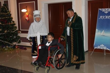 В Актау прошло чествование родителей, воспитывающих детей с ограниченными возможностями