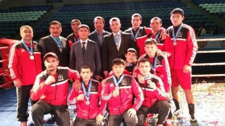 Сборная Мангистау стала серебряным призером Кубка казахстанской федерации бокса