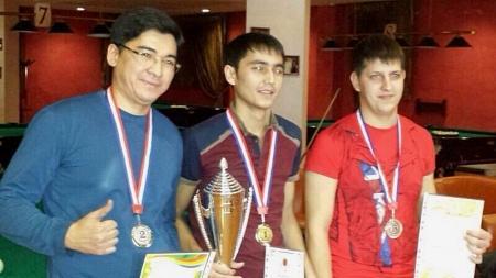 В Актау прошел чемпионат по русскому бильярду