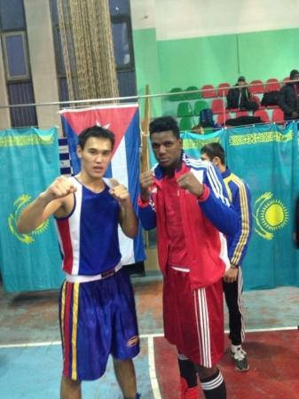 Актауские боксеры завоевали серебряные медали на международном турнире в Алматы
