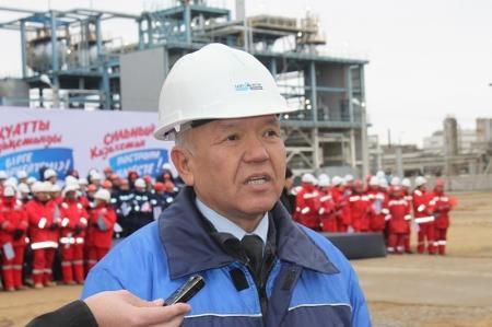 Актауский битумный завод запущен в эксплуатацию