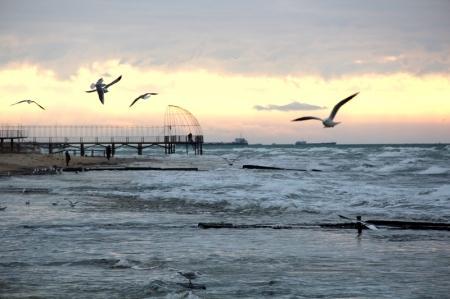 Каспий в декабре. Фотопост