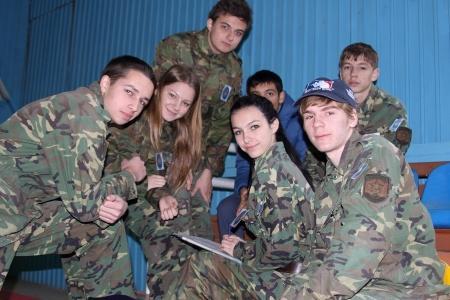 В Актау прошли соревнования по пейнтболу среди школьников