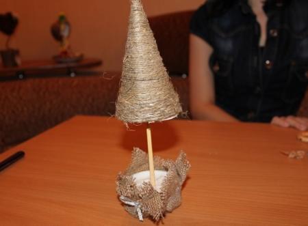 Топиарий - счастливое дерево от Ирины Григорьевой