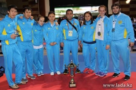 За 2013 год актауские каратисты пополнили свою копилку 51 медалью