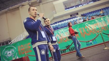 Ильдар Ягъяев из Актау установил рекорд Казахстана на первом чемпионате страны по street workout