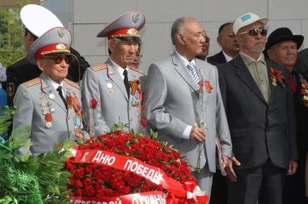 Ада Ким: Ко Дню Победы в 2014 году 58 участников и инвалидов ВОВ получат помощь в размере 100 тысяч тенге