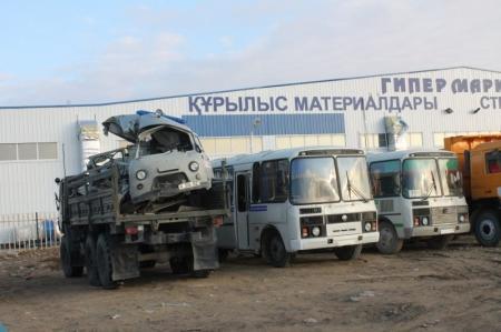В Актау полицейские вновь взялись за нарушителей из числа водителей автобусов