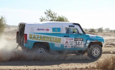 Мангистауская команда «Mobilex Racing Team» прошла технические и административные проверки во Франции