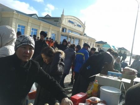 В селе Болашак Мангистауской области проведена продовольственная ярмарка
