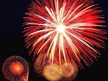 Начало Нового года в Актау прошло практически без происшествий (добавлено видео)