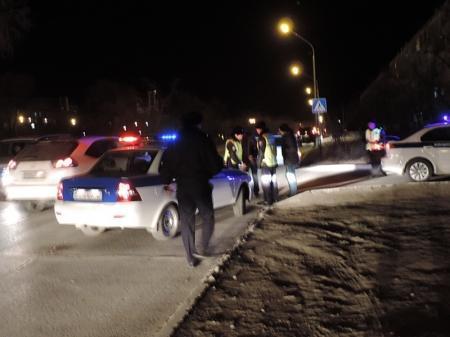 На дороге в Актау в новогоднюю ночь автомобиль  сбил девушку