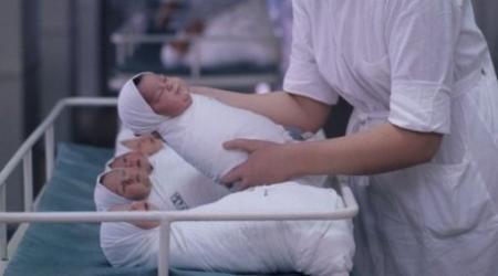 1200 детей родились в Новый год в Казахстане