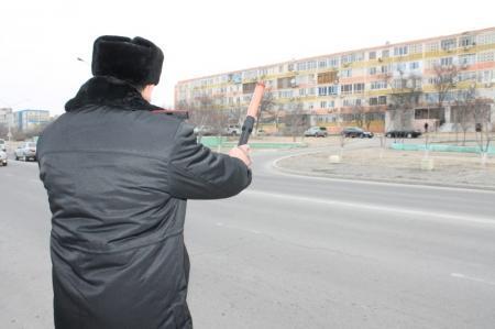 В Актау за один день рейда взыскано более 250 тысяч тенге с водителей-нарушителей