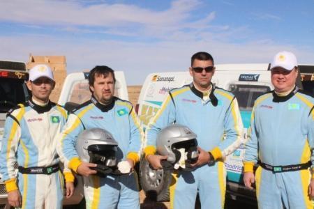 Экипаж команды «Mobilex Racing Team» занял второе место в классе внедорожников в ралли «Africa eco Race»