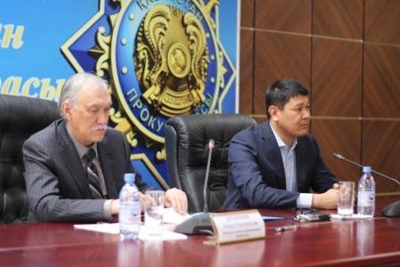 Предприниматели и прокуроры Мангистауской области подписали меморандум о сотрудничестве
