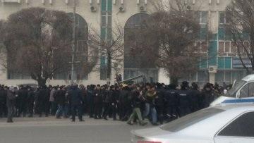 Несанкционированный митинг прошел в Алматы, задержаны десятки человек