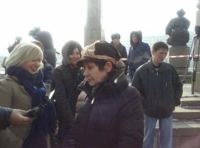 Очередной митинг против девальвации прошел в Алматы, задержаны три человека